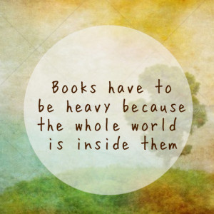 ... for this image include: books, cool quote, heavy, inside and quote