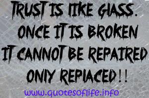 broken glass quotes