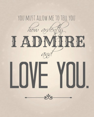 FREE Valentine Printable - Ardently I Admire, WP Romance Collection ...