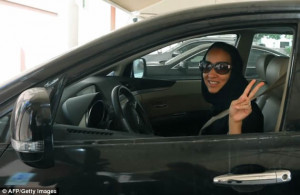 Saudi woman 'arrested' for driving