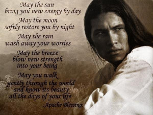 """May the sun bring you new energy by day,"""" begins this saccharine ..."""