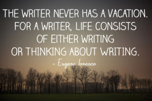 eugene ionesco writing quote