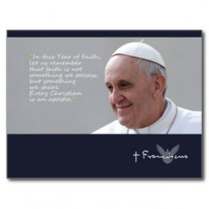 pope_francis_quote_papa_francisco_palabras_postcard ...