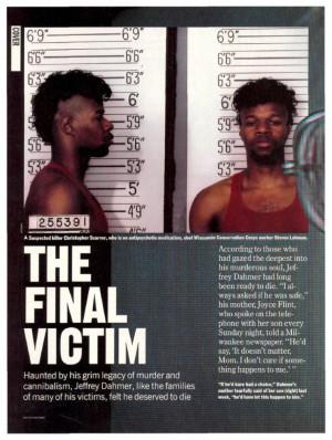 victims jeffrey dahmer crime scene pictu Jeffrey