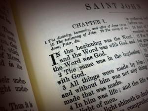 Bible Verses About Respect Bible verse - john 1