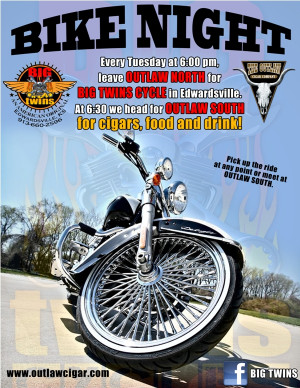 Bike Nights! Starts Second Week in June! Then every Tuesday after that ...