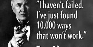 Famous Quotes About Failure Famous failures