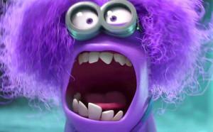 Mean minion: Purple Minions, Despicable Me 2, Ems Despicable, Evil ...