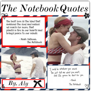 the notebook quotes polyvore