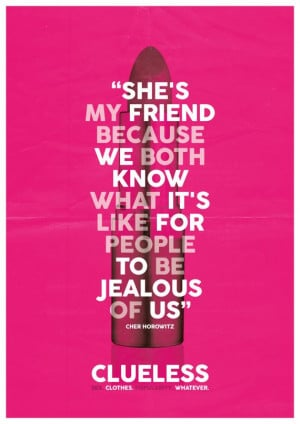 Clueless Quote Liked Polyvore