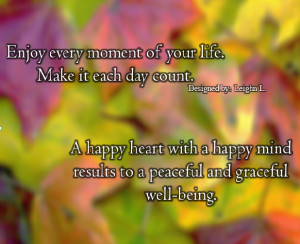 Happiness Quotes Enjoy...
