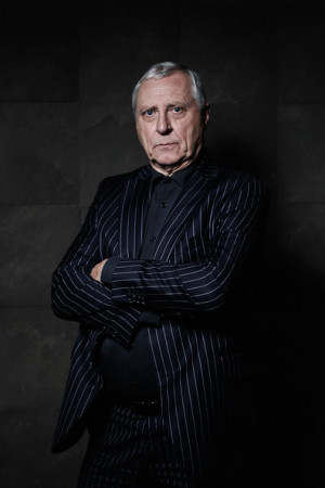 Peter Greenaway Image has been desaturated Director Peter Greenaway