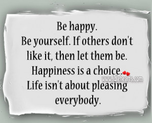 Happy Quote Yourself Others