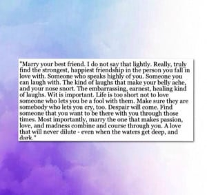 marrying your best friend quotes quotesgram