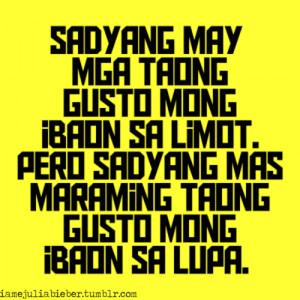 pinoy quotes #patama #limot #tagalog quotes #banat