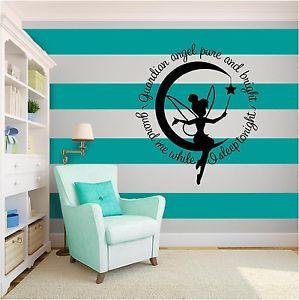 ... -Guardian-Angel-Nursery-Baby-Inspirational-Vinyl-Wall-Art-quote-Home