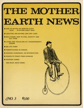 Mother Earth News, c1970