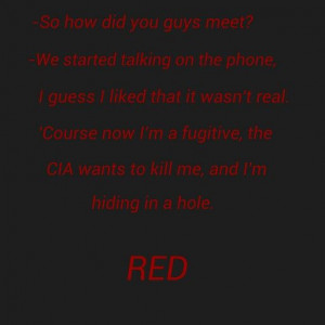 Red movie quote
