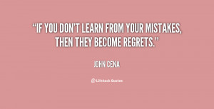 Learn From Your Mistakes Quotes