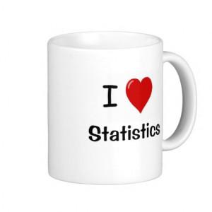 Funny Statistics One Liner Joke Mug