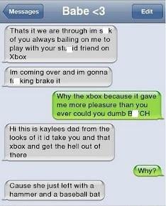Angry Girlfriend! Hahahaa!