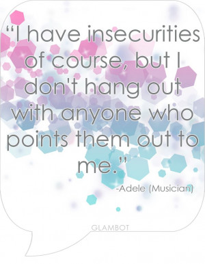 Feeling Insecure Quotes