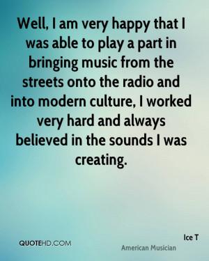 Ice T Music Quotes