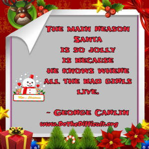 Funny Santa Claus Quote