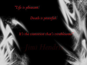Jimi Hendrix Quote by Twibix