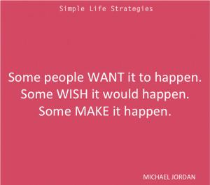Make It Happen Quotes Michael Jordan