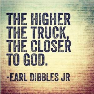 Earl Dibbles Jr Lifted Truck