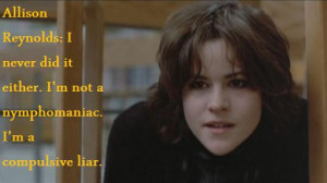 Showing Gallery For The Breakfast Club Allison Quotes
