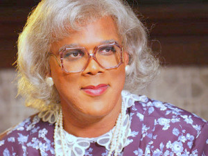 TYLER PERRY: (I don't know why the title keeps messing up, it's ...