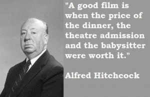 Alfred Hitchcock, English film director of suspense and psychological ...
