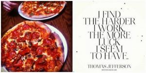 Terra Cotta pizza, Windsor Ontario pizza, Thomas Jefferson quote ...