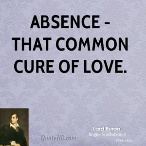 Lord Byron Love Quotes