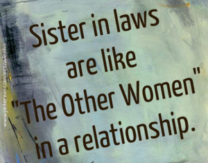 sister in laws...