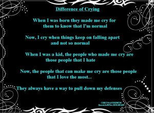 ... www.pics22.com/difference-of-crying-crying-quote/][img] [/img][/url