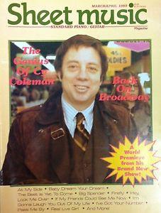 Sheet Music Magazine Mar/Apr 1989