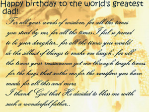 Happy Birthday Quotes for Father who passed away