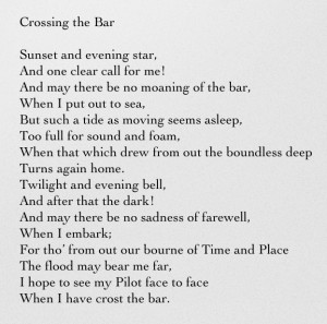 ... Alfred, Lord Tennyson one of my favorite poems....of many favorites