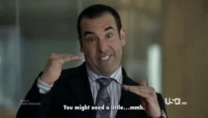 Louis Litt. He is good. Has an unusual style and is a winner. Plus the ...
