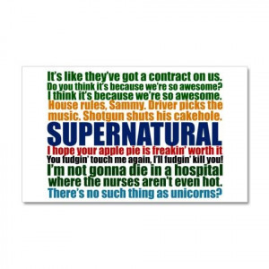 Supernatural Awesome Quotes