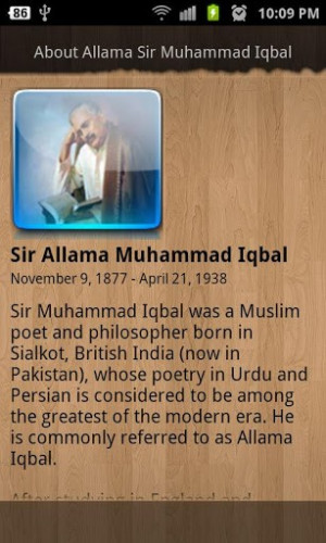 Allama Muhammad Iqbal Quotes Screenshot 6