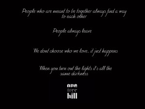 One Tree Hill Oth Quotes