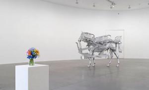Urs Fischer, Horse/Bed, Gagosian Gallery, Rome