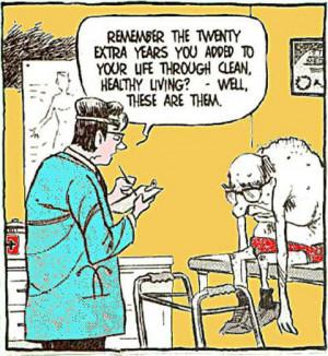 Jokes About Old Age Cartoon