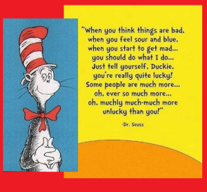 Dr. Seuss Quote of the Day