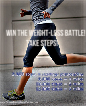 Did you know that depending on your weight, 10,000 steps burns between ...