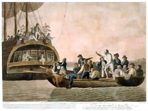 Mutiny on the Bounty Leaves Remains of Perilous Voyage
